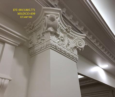 Thạch cao | đấu cột trang trí ngoại thất
